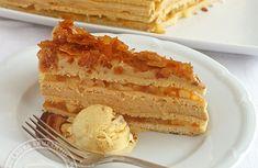 prajitura cu mere si crema de caramel Creme Caramel, Vanilla Cake, Desserts, Food, Dulce De Leche, Tailgate Desserts, Creme Brulee, Deserts, Essen