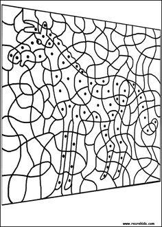 Coloriage Magique Cheval Cp.46 Meilleures Images Du Tableau Coloriages Magiques Coloring Pages