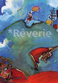 Rêverie | par pole in Illustrations, Album, Painting, Art, Art Background, Illustration, Painting Art, Kunst, Paintings