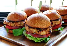 Buffalo Chicken Burgers! ---I made these with ground turkey instead of chicken and used goat cheese instead of blue cheese. My husband said it was the best burger he ever had. and Super moist especially considering I used 99% fat free turkey