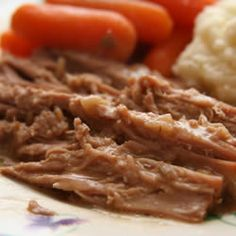 Awesome Slow Cooker Pot Roast - I would make this again any day, it was sooooo yummy, especially the sauce!