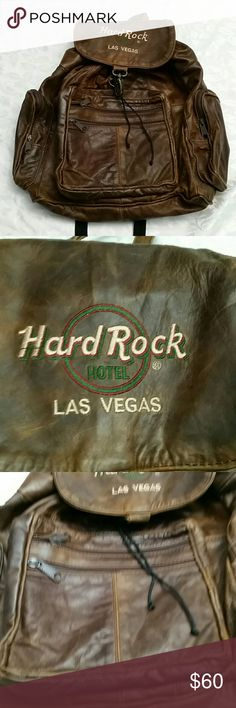 efc6499d6a0 Shop Men s Hard Rock Hotel Brown size OS Backpacks at a discounted price at  Poshmark. Excellent condition and very unique.