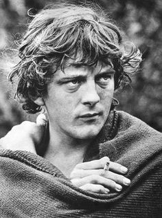 Actor David Hemmings - Magazine Clipping, 1969 on the set of Alfred The Great