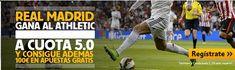 el forero jrvm y todos los bonos de deportes: betfair Real Madrid gana Athletic cuota 5 liga mas...