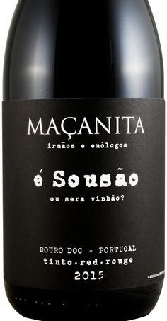 2015 Maçanita É Sousão / Vinhão tinto