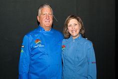 Chef Gail Sokol and Albany's Mayor Jerry Jennings at Eat Healthy Albany