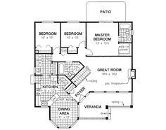 floorplan - great size