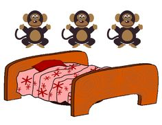 Five Little Monkeys Jumping on a Bed is a favorite fingerplay for preschoolers to begin learning take-away