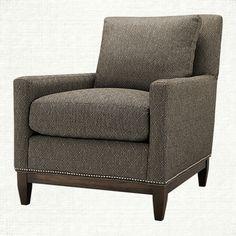 Dante Upholstered Chair in Wilson Graphite