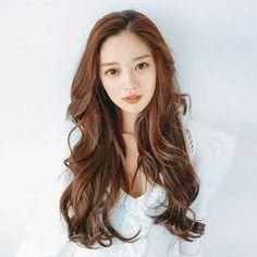 Haircut korean long digital perm 21 new ideas Haircuts For Long Hair, Permed Hairstyles, Pretty Hairstyles, Asian Hair Perm, Digital Perm, Locks, Long Wavy Hair, Clip In Hair Extensions, About Hair