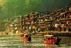Fenghuang Old Town of Zhangjiajie, Hunan province