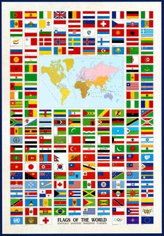 small flags of the world for sale