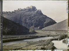 Ankara Kalesi ve Hatip Çayı - 1922 (orjinal renkli)