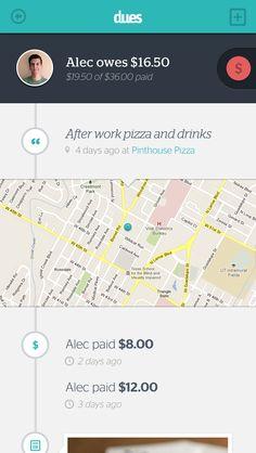 dues - iphone app