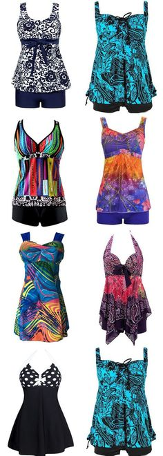 Cute Tankini Swimsuits for women 2017