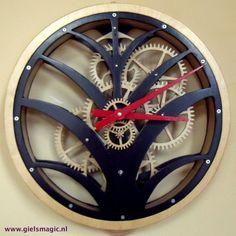 Clock 7 - Palm