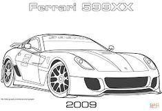image result for ferrari coloring pages - Ferrari Coloring Pages