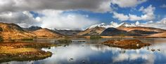 Rannoch Panorama by Stephen Emerson on 500px, west of Loch Rannoch, in Perth and Kinross and Lochaber, Highland, Scotland