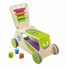 Educational Toys For 1 Year Old Boys Girls Walk Ride Balance Skills Wood  #Boikido