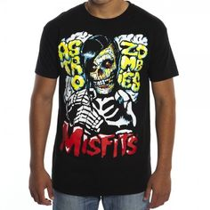 Misfits Astro Zombies Mens Tee