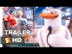 Storks Official Teaser Trailer #1 (2016) - unexpected/expected, emotions, prediction, inferences, thinking/feeling