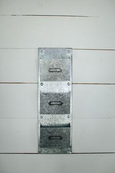 Metal Wall Pockets