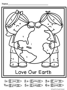 FREE printable Earth Day themed worksheets for pre-k and kindergarten kids to practice the alphabet and letter recognition while having fun coloring the sheets! Great Earth Day no-prep activity for kids! Earth Day Worksheets, Earth Day Activities, Preschool Activities, Earth Day Coloring Pages, Bible Coloring Pages, Earth Craft, Earth Day Crafts, Earth Day Projects, Letter Recognition