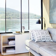 Step Inside the Chicest Houseboat Around