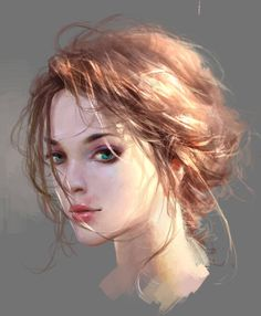 Like Drawing Image Fantasy of forms the Face Book Digital Art Girl, Digital Portrait, Portrait Art, Character Portraits, Character Art, Art Sketches, Art Drawings, Drawn Art, Portrait Illustration