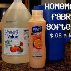 HOME MADE FABRIC SOFTNER