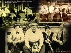 Buster Keaton, Roscoe Arbuckle, Al St. Johns, Alice Lake, Luke the Dog