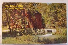 Missouri MO Alley Spring State Park Water Mill Postcard Old Vintage Card View PC | eBay