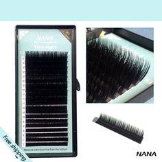 Free shipping 4cases 7~15mm MIX , 20sheets/case, mink extension eyelashes natural eyelashes false eyelashs extension eyelashes