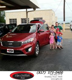 https://flic.kr/p/Hmp48G | Happy Anniversary to Ruth  from Marcus Chavez at Van Griffith Kia! | deliverymaxx.com/DealerReviews.aspx?DealerCode=PXVJ