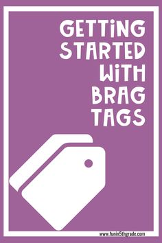 This blog post explains all about how to get started with brag tags for elementary.  Brag tags are a great classroom management strategy for encouraging positive behavior in the classroom.  Find out how to prepare the brag takes for back to school Classroom Incentives, Classroom Management Strategies, Behaviour Management, Organization And Management, Classroom Organization, Teaching Kindergarten, Teaching Tips, Brag Tags, Positive Behavior