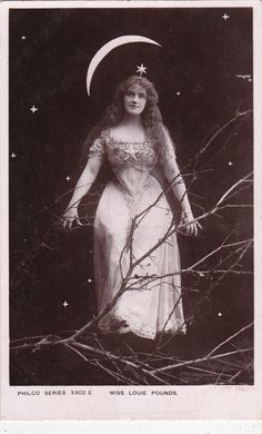 British Stage Actress Miss Louie Pounds 1906