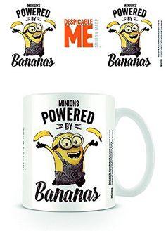Ich-Einfach Unverbesserlich 2, Powered By Bananas Tasse aus Keramik - http://geschirrkaufen.online/despicable-me-3/ich-einfach-unverbesserlich-2-powered-by-bananas