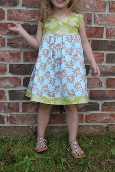 Tutorial on making a cute little girls dress