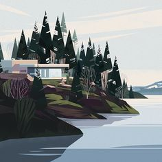 Cabins | animation design