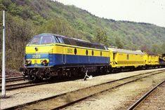 NMBS 5505 blauw-geel