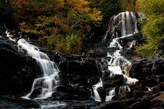 Waber Falls, Parc national de la Mauricie, Québec