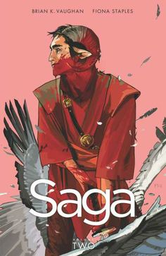 Availability: http://130.157.138.11/record=b3728934~S13 Saga Volume 2 / Brian K. Vaughan, writer ; Fiona Staples, artist. Thanks to her star-crossed parents Marko and Alana, newborn baby Hazel has already survived lethal assassins, rampaging armies, and alien monstrosities, but in the cold vastness of outer space, the little girl encounters her family's greatest challenge yet: the grandparents.