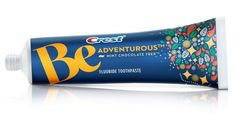 Chocolate toothpaste for adults! Oh my.