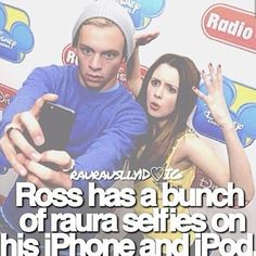 BUT ROSS DOESNT LIKE SELFIES SO THIS MAKES IT EVEN MORE SPECIAL!!!!!!!!!!!