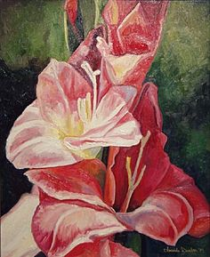 """Gladiolas V"" - Amanda Dunbar"