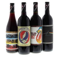 Wines that rock:  Grateful Dead, Rolling Stones, Pink Floyd, the  Police