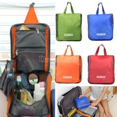New Portable Travel Toiletry Wash Bag Cosmetic Makeup Kit Pouch Storage Organizer