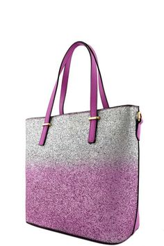 Two Tone Ombre Tote Bag