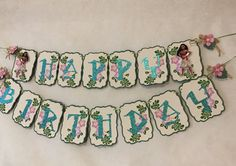 This is a unique and beautiful Personalized Moana Banner. Specially design to add to your decorations on Moana Theme Birthday Party. Perfect to add color to your wall. Made with Paper, Glitter Paper, and Rafia. Each flag is 5.5 tall x 4.25 wide. You can choose to add a name. Just