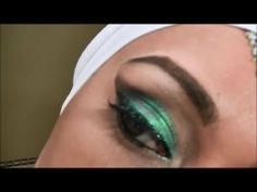 Arabic eye make up